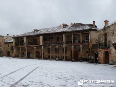 Villa de Pedraza y el Cañón del Río Cega; senderismo por cantabria